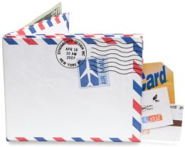 Air Mail Recycled Mighty Wallet (7 x 3.5 x 0.25)
