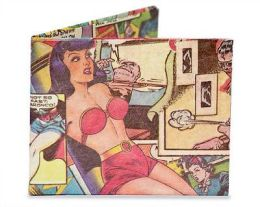 Comic Book Tyvek Mighty Wallet - 3x4