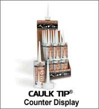 Crawler CT-24 Caulk Tip 24-5 Pack Display Carton