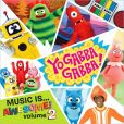 CD Cover Image. Title: Music Is...Awesome!, Vol. 2, Artist: Yo Gabba Gabba!