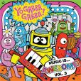 CD Cover Image. Title: Music Is...Awesome!, Vol. 3, Artist: Yo Gabba Gabba!