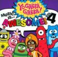 CD Cover Image. Title: Music Is...Awesome!, Vol. 4, Artist: Yo Gabba Gabba!