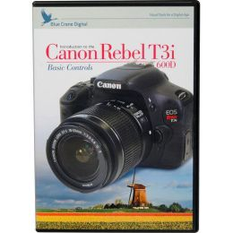 BLUE CRANE NBC139 INSTRUCTIONAL DVD FOR CANON(R) CAMERAS (CANON(R) REBEL T3I/600D)