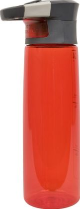 Madison Red AutoSeal Water Bottle with Caribiner Clip-24 oz.