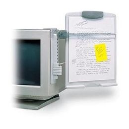 Kensington K62066US Kensington Premium Monitor View Clip with Copy holder Type - White