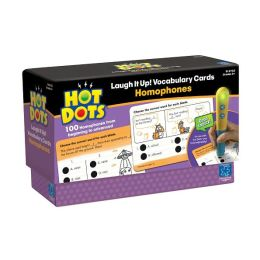 Hot Dots® Laugh It Up! Vocabulary Cards - Homophones