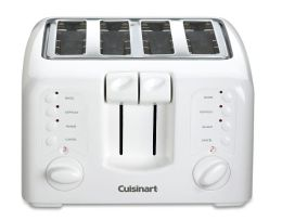 Cuisinart CPT-140 Compact 4-Slice Toaster - White