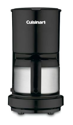 Cuisinart DCC-450BK 4-Cup Coffeemaker with Stainless Steel Carafe