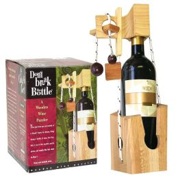 Don't Break the Bottle: Wine Bottle Puzzle Original Edition