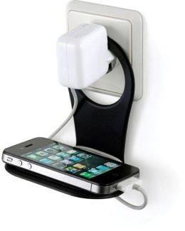Foldable Drinn Phone Holder Black