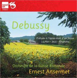 Debussy: Prélude à l'apres-midi d'un Faune; La Mer; Khamma