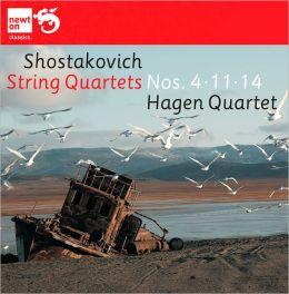 Shostakovich: String Quartets Nos. 4, 11 &14