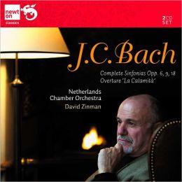J.C. Bach: Symphonies Opp. 6, 9 & 18