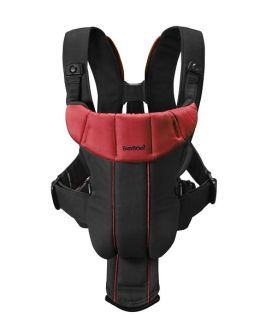 BabyBjrn Baby Carrier Active - Black/Red