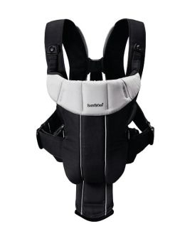 BabyBjrn Baby Carrier Active - Black/Silver