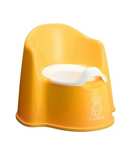Baby Bjorn Yellow Potty Chair