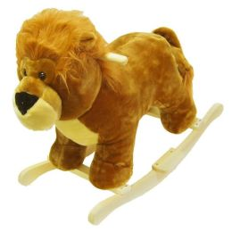 HAPPY TRAILST Lion Plush Rocking Animal
