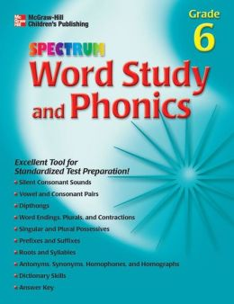 Word Study and Phonics - Grade 6 Grade 6
