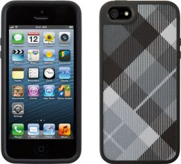 Speck FabShell Case for iPhone 5 in MegaPlaid Black
