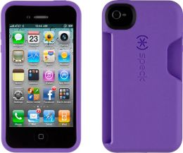 Speck SmartFlex Card Case for iPhone 4/4S in Grape