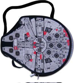 Lego Star Wars ZipBin Large Millennium Falcon Messenger Bag