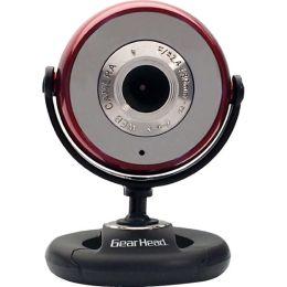 Gear Head WC750RED Webcam - 1.3 Megapixel - Red - USB 2.0