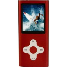 Eclipse 4 GB Red Flash Portable Media Player