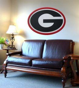 Adventure Furniture C0504-Georgia University of Georgia Logo Wall Art