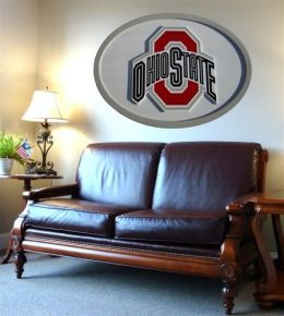 Adventure Furniture C0504-Ohio State Ohio State University Logo Wall Art