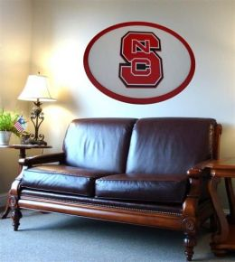 Adventure Furniture C0504-NC State North Carolina State Wall Art