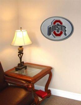 Adventure Furniture C0524-Ohio State Ohio State University 3D Logo Wall Art- 31 inch