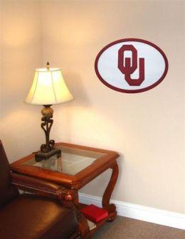 Adventure Furniture C0524-Oklahoma University of Oklahoma 3D Logo Wall Art- 31 inch