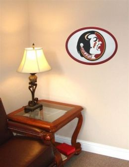 Adventure Furniture C0524-Florida State Florida State University 3D Logo Wall Art- 31 inch