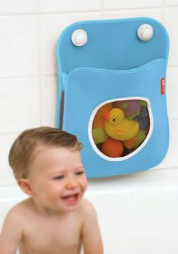 Tubby Bath Toy Organizer - Blue