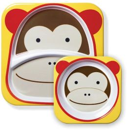 Zoo Tableware - Monkey