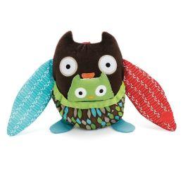 Skip Hop Hug & Hide Stroller Toy - Owl