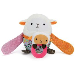 Skip Hop Hug & Hide Stroller Toy - Lamb