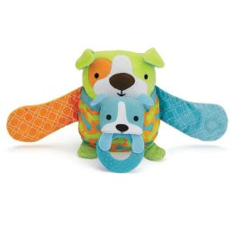 Skip Hop Hug & Hide Stroller Toy - Dog