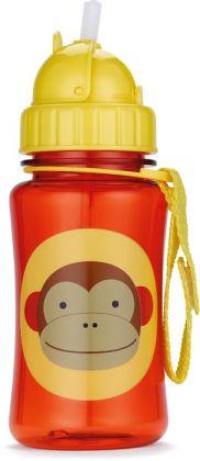Zoo straw bottle - Monkey