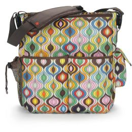Jonathon Adler Duo Essential Diaper Bag - Wave Multi