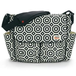 Jonathon Adler Dash Messenger Diaper Bag - Nixon