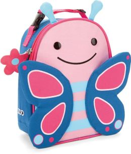 Zoo insulated lunch bag - Butterfly