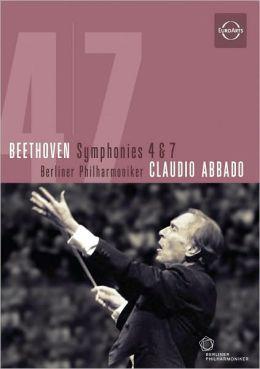 Berliner Philharmoniker/Claudio Abbado: Beethoven - Symphonies 4 & 7