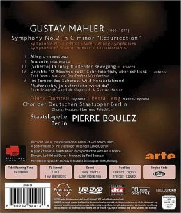 Pierre Boulez: Mahler - Symphony No. 2