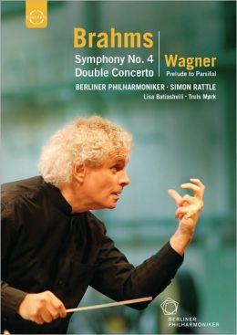Berliner Philharmoniker/Simon Rattle: Brahms - Symphony No. 4/Wagner