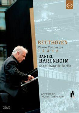 Daniel Barenboim: Beethoven - Piano Concertos 1, 2, 3, 4, 5
