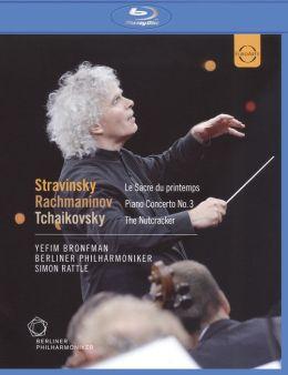 Yefim Bronfman/Berliner Philharmoniker/Simon Rattle: Stravinsky/Rachmaninov/Tchaikovsky