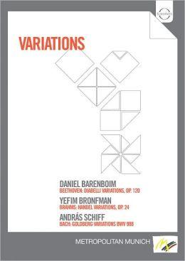 Daniel Barenboim/Yefim Bronfman/Andras Schiff: Variations