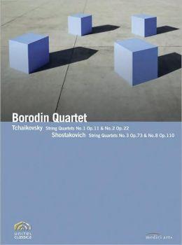 Borodin Quartet: Tchaikovsky/Shostakovich - String Quartets