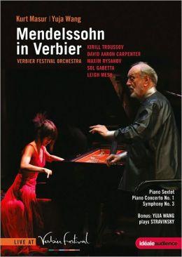 Kurt Masur/Yuja Wang: Mendelssohn in Verbier - Piano Sextet/Piano Concerto No. 1/Symphony No. 3